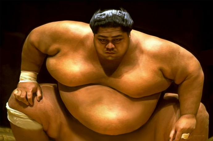How to eat like a sumo wrestler!