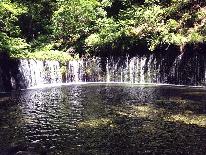 Shiraito Falls, near Karuizawa