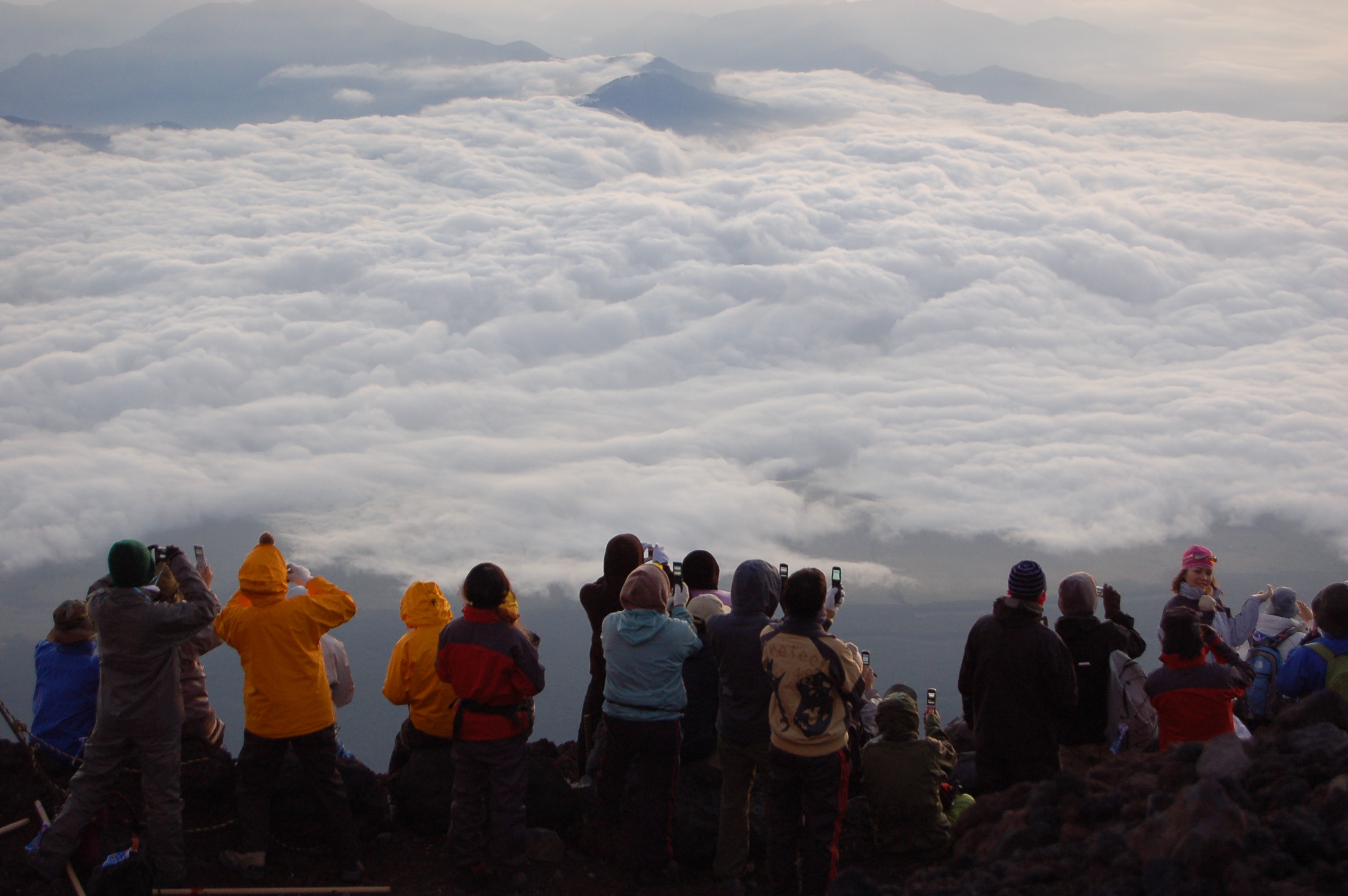 Climbing Mount Fuji (Flickr)