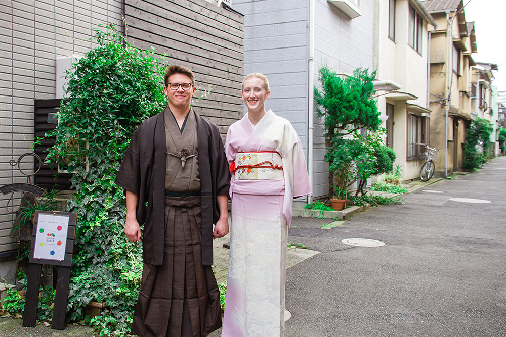 A Chance To Dress In Traditional Japanese Style