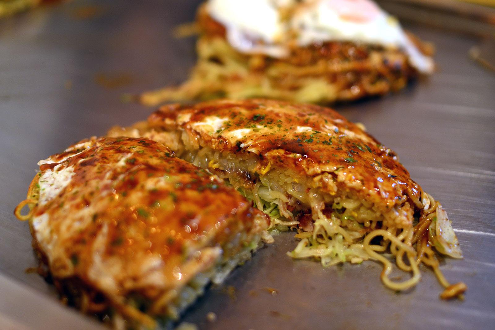 Okonomiyaki Festival Food