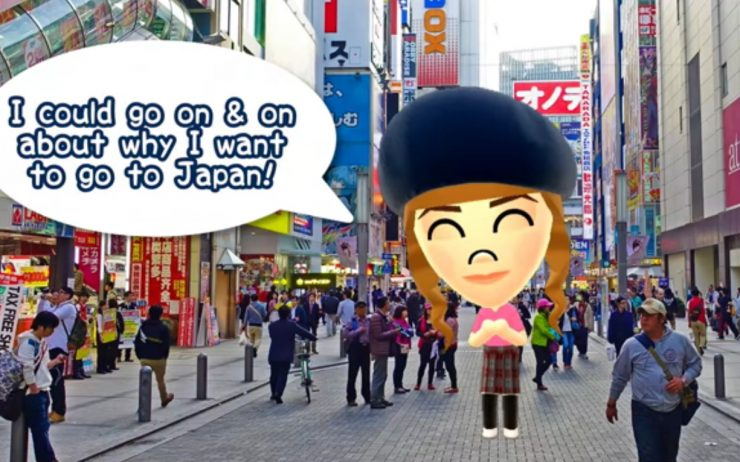 Win A Trip to Japan Video Entry Abi Pop