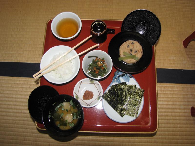Koyasan-Ekoin-Shojin-Ryori-Breakfast