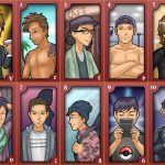A cartoon of the 10 types of men in Japan
