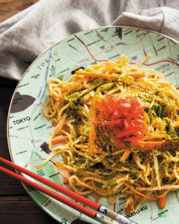 Yakisoba from Fiona's book