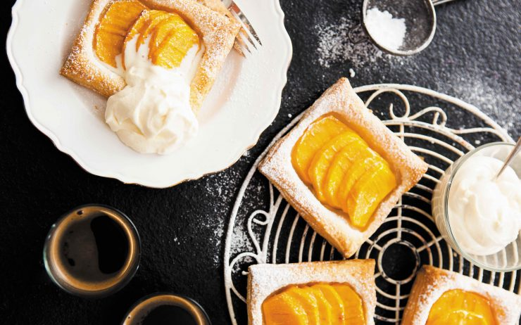 How to Make Kaki Fruit Tart