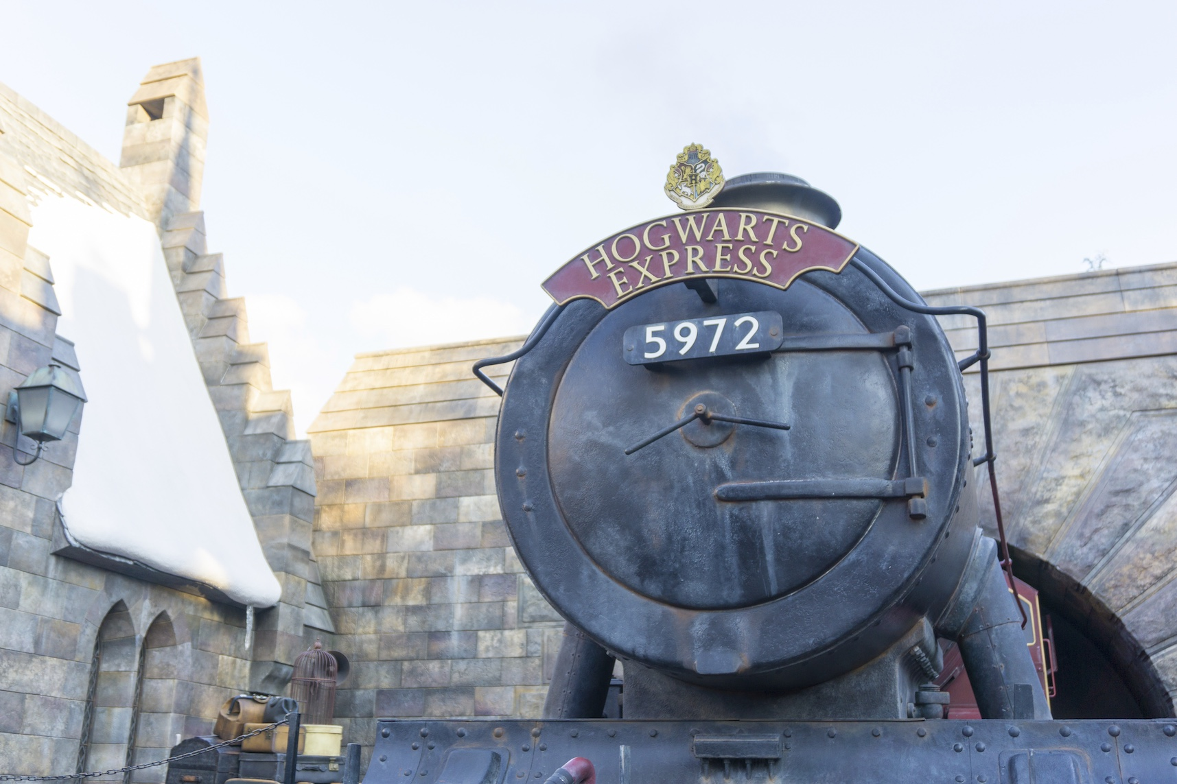 Hogwarts Express Train at Wizardly World of Harry Potte