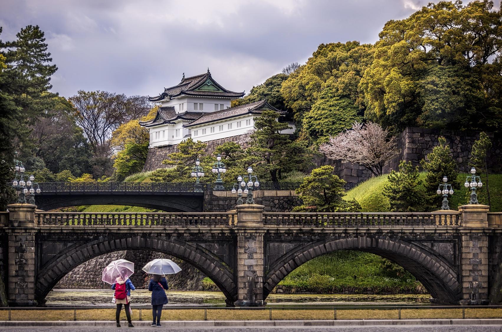 du lịch tự túc Nhật bản 7 ngày - hoàng cung tokyo