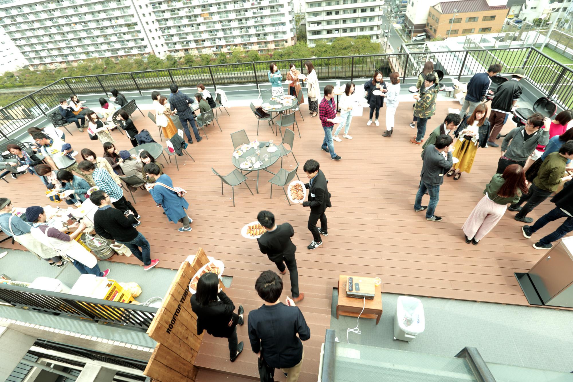Social Apartments BBQ Terrace