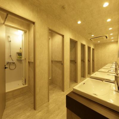 WeBase Hostel Kamakura Showers