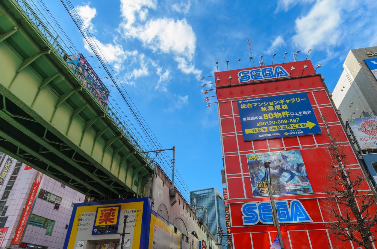 Sega store in Akihabara
