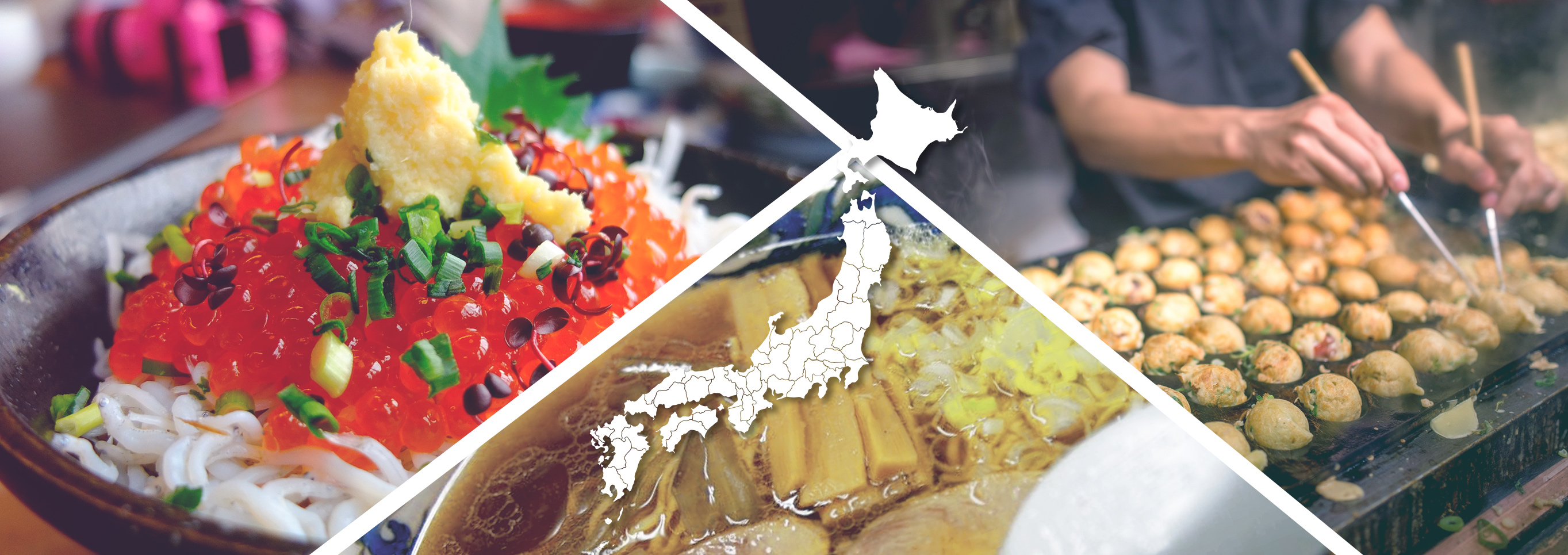 Japanese food map