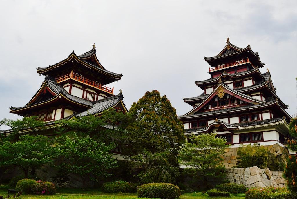 things to do in Kyoto Fushimi Momoyama Castle in Kyoto