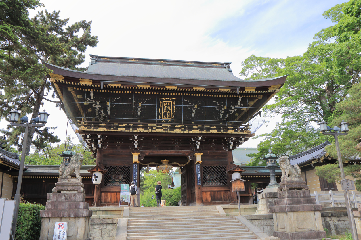 ten things to do in Kyoto Kitano Tenmangu Shrine