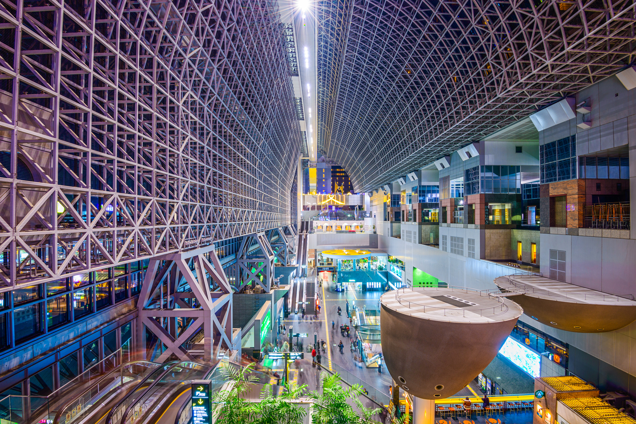 ten things to in Kyoto Inside Kyoto Station