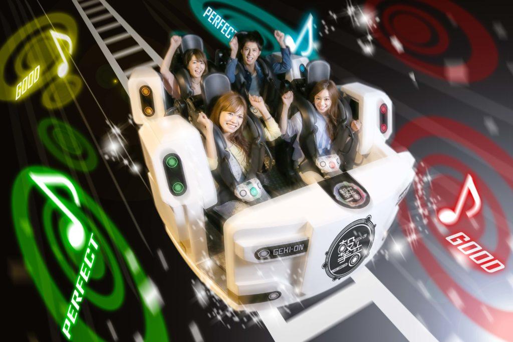 Joypolis Gekion Live Coaster