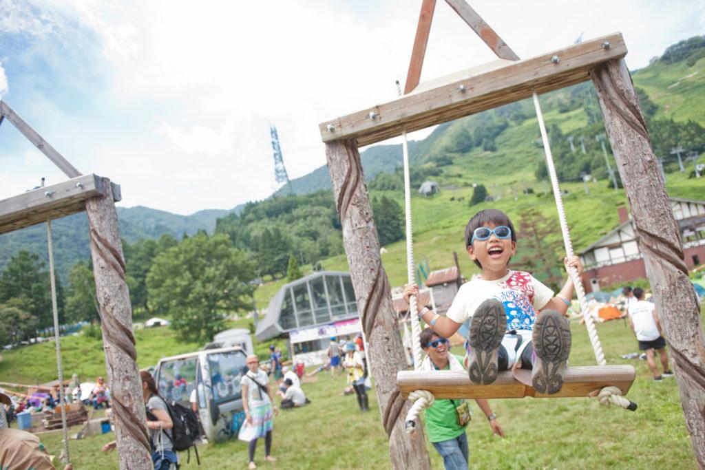 Fuji Rock Kids