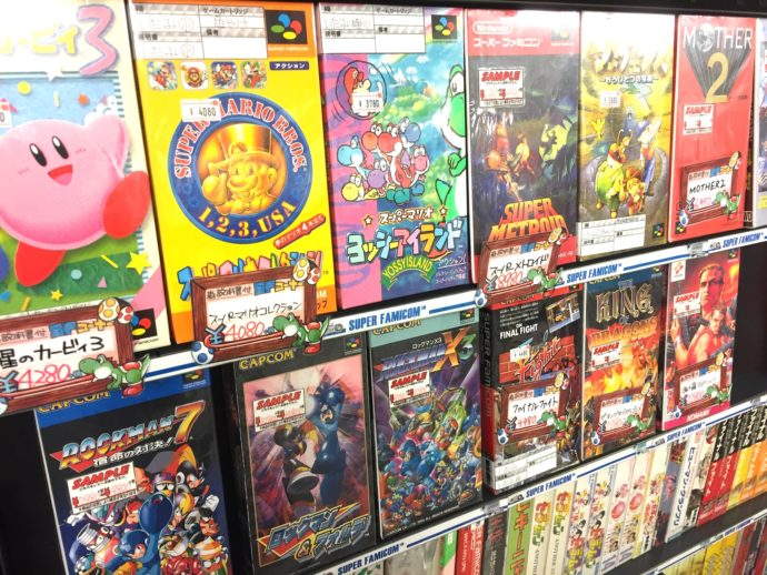 5 Places to Find Classic Video Games in Japan