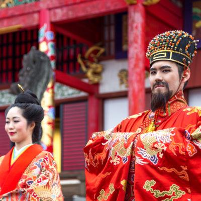 Festival in Naha, Okinawa Estinate Hotel