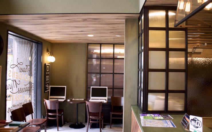 Hotel Uno Ueno lounge