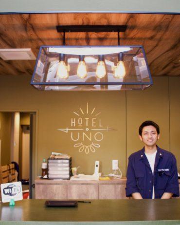 Hotel Uno Ueno receptionist