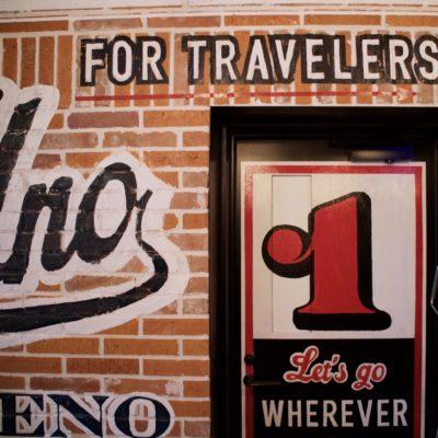 Hotel Uno Ueno wall closeup