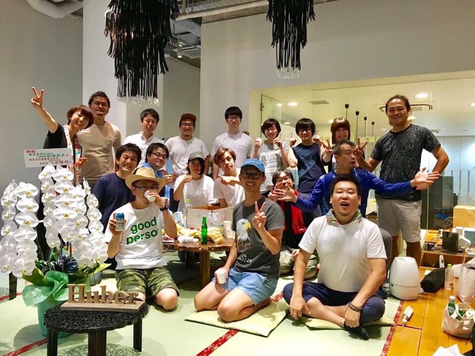 Huber Tomodachi Guide team members