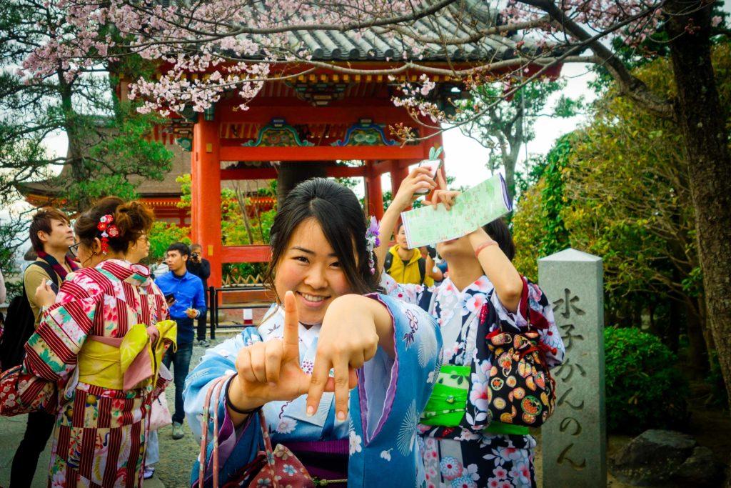 Last of the hanami on Kyoto.