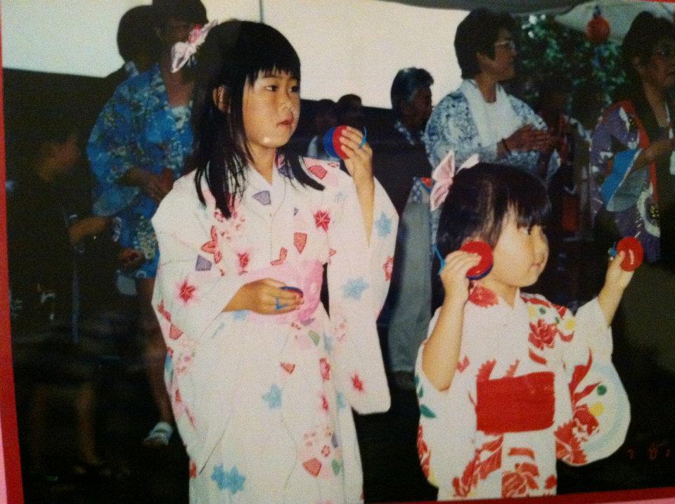 Summer obon festival in California.