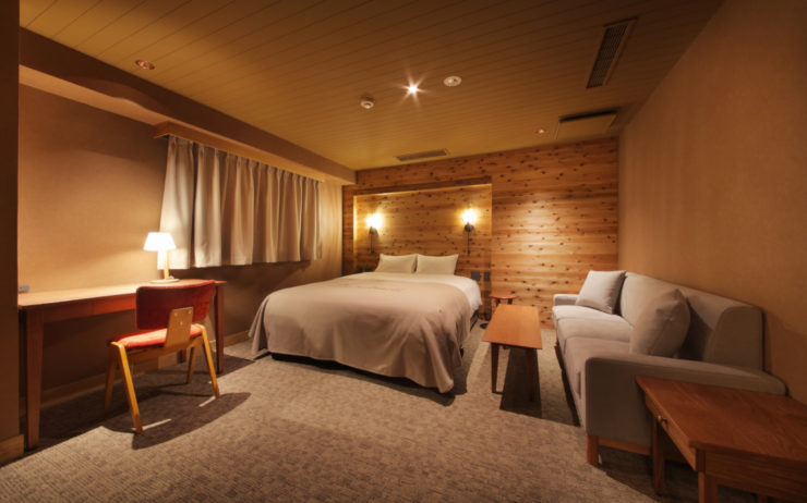 Unwind Hotel & Bar has four types of bedroom