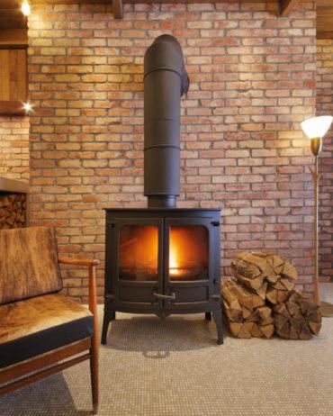 Unwind Hotel & Bar fireplace