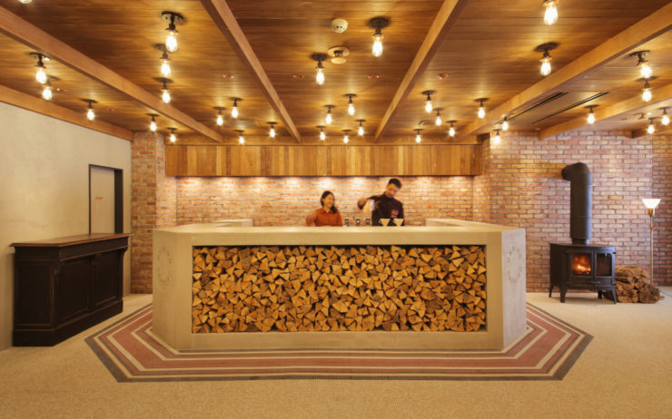 Unwind Hotel & Bar reception