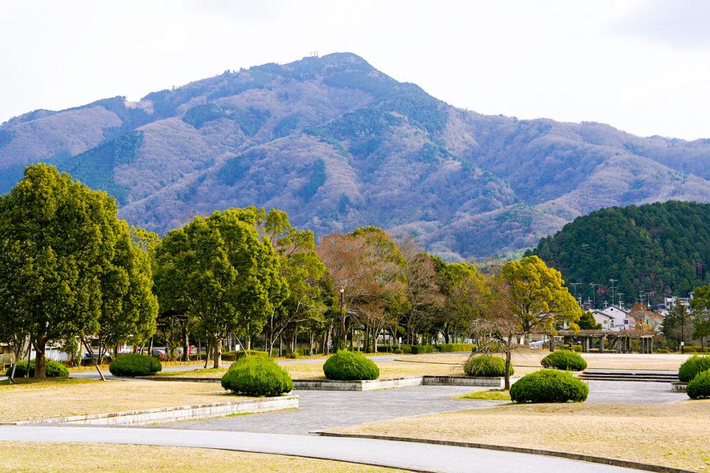 Mt Hiei, Takaragaike Park, Kyoto