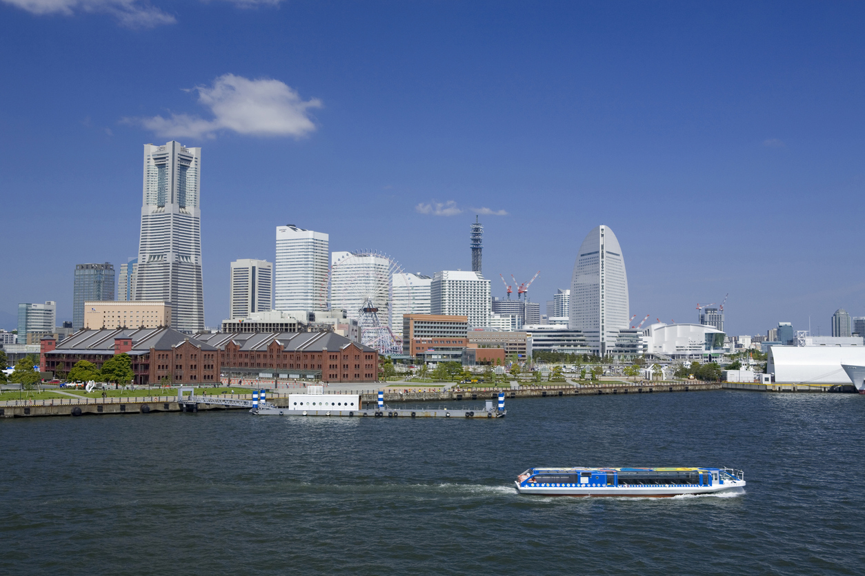 Yokohama Sea Bus waterbus