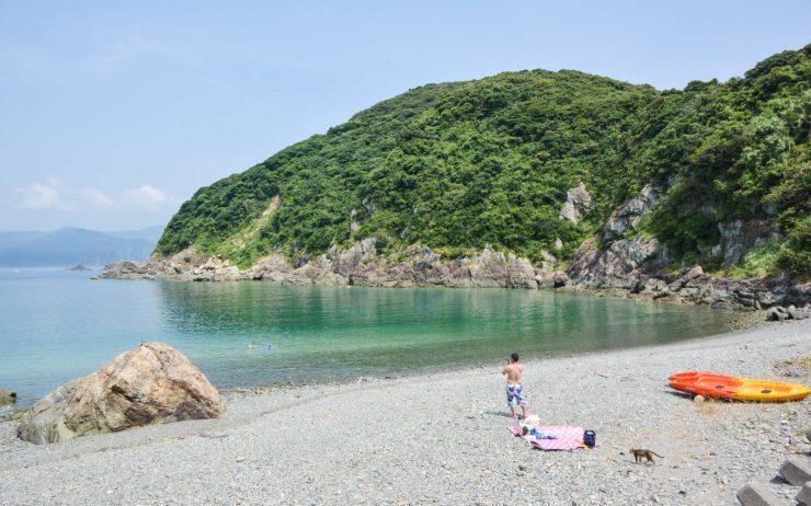 Cat Island Fukashima beach