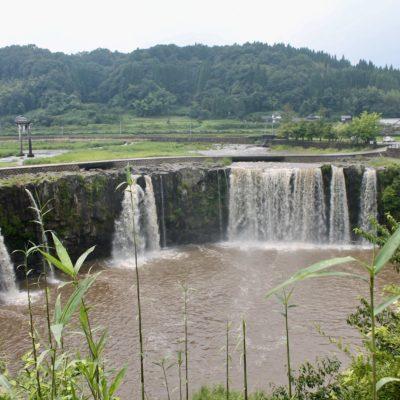 Harajiri Falls from above