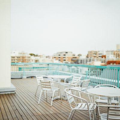 Hotel Graphy Nezu terrace