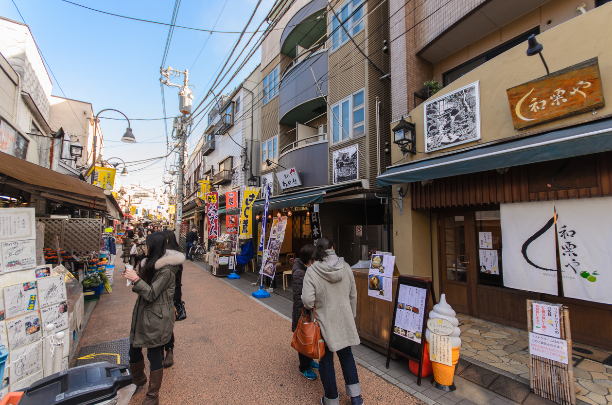 Hotel Graphy Nezu is located close to charming Yanaka Ginza.