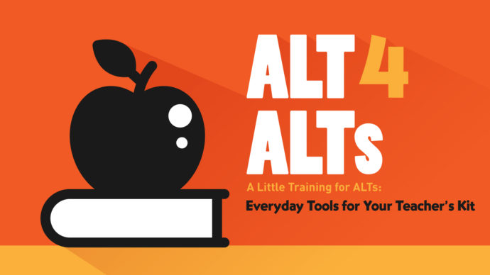 ALTs and Their Utility Belts: 3 Practical Tools for the Classroom