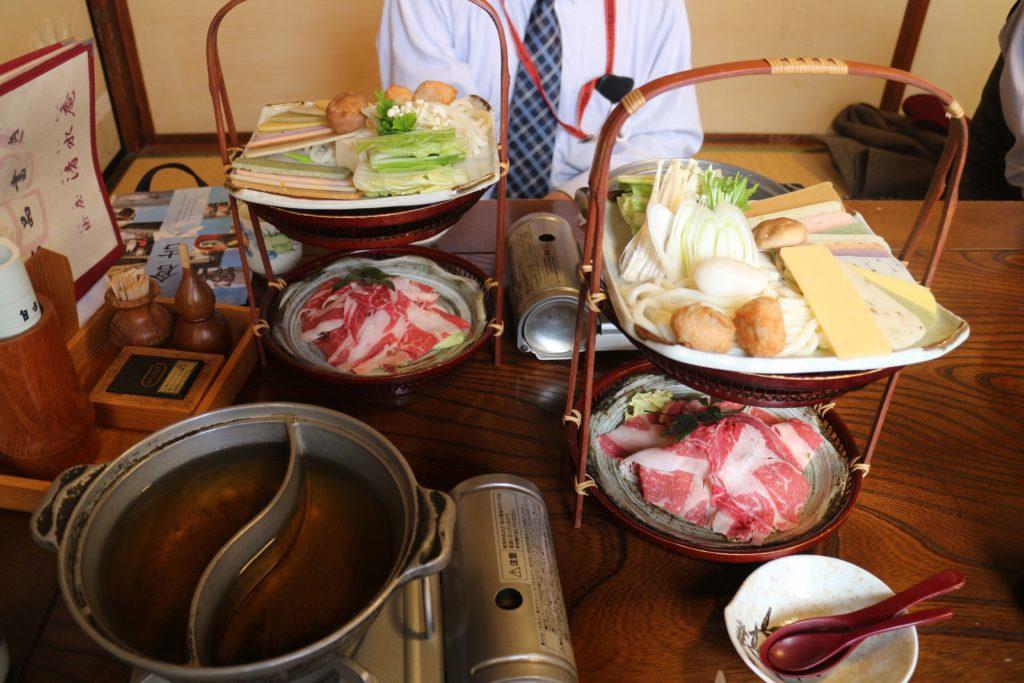 Mochi shabu shabu in Tottori
