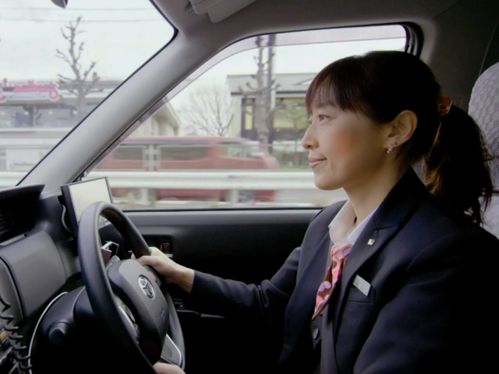 Become a taxi driver with Hinomaru