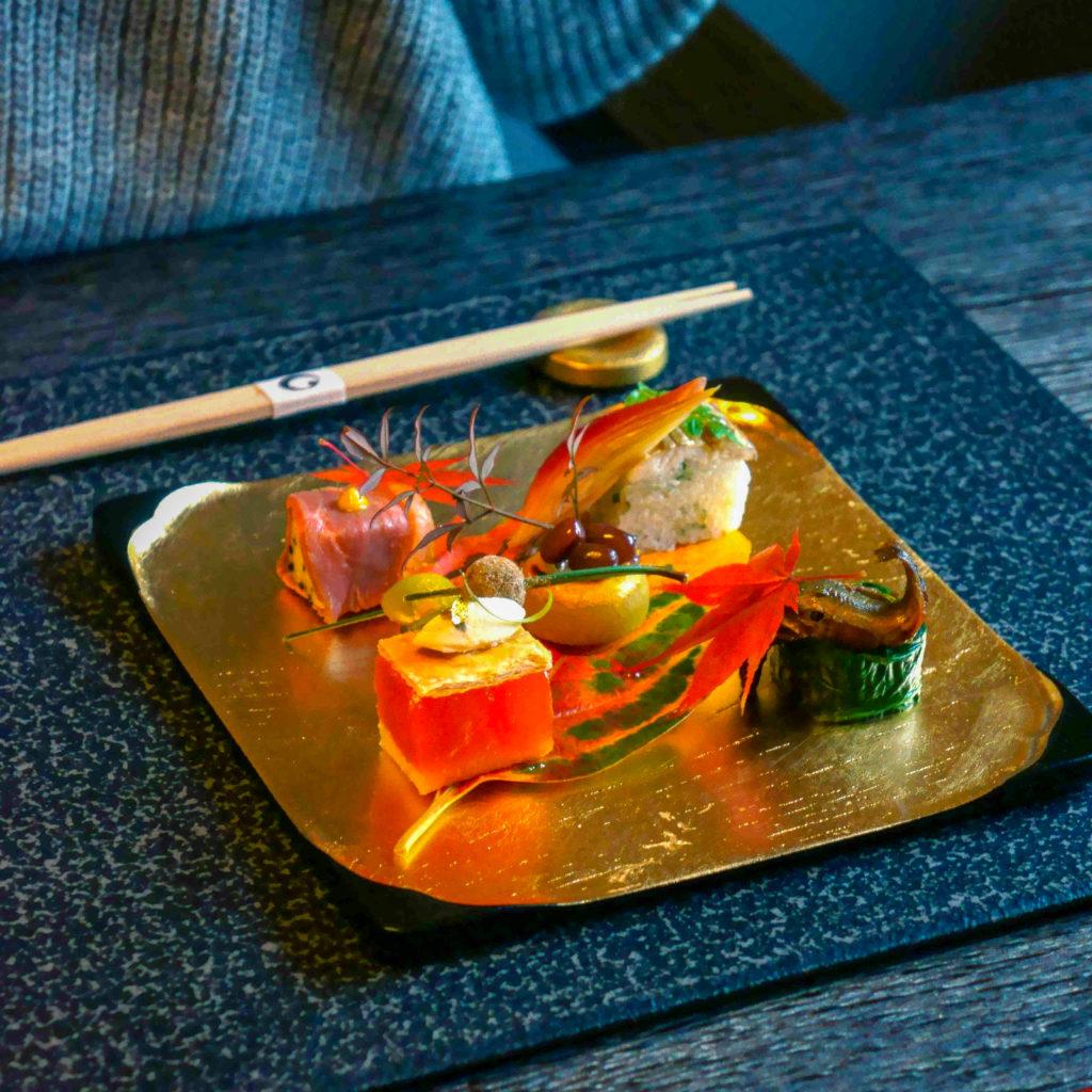 Hoshinoya's cuisine features creations by Michelin-starred chef Ichiro Kubota.