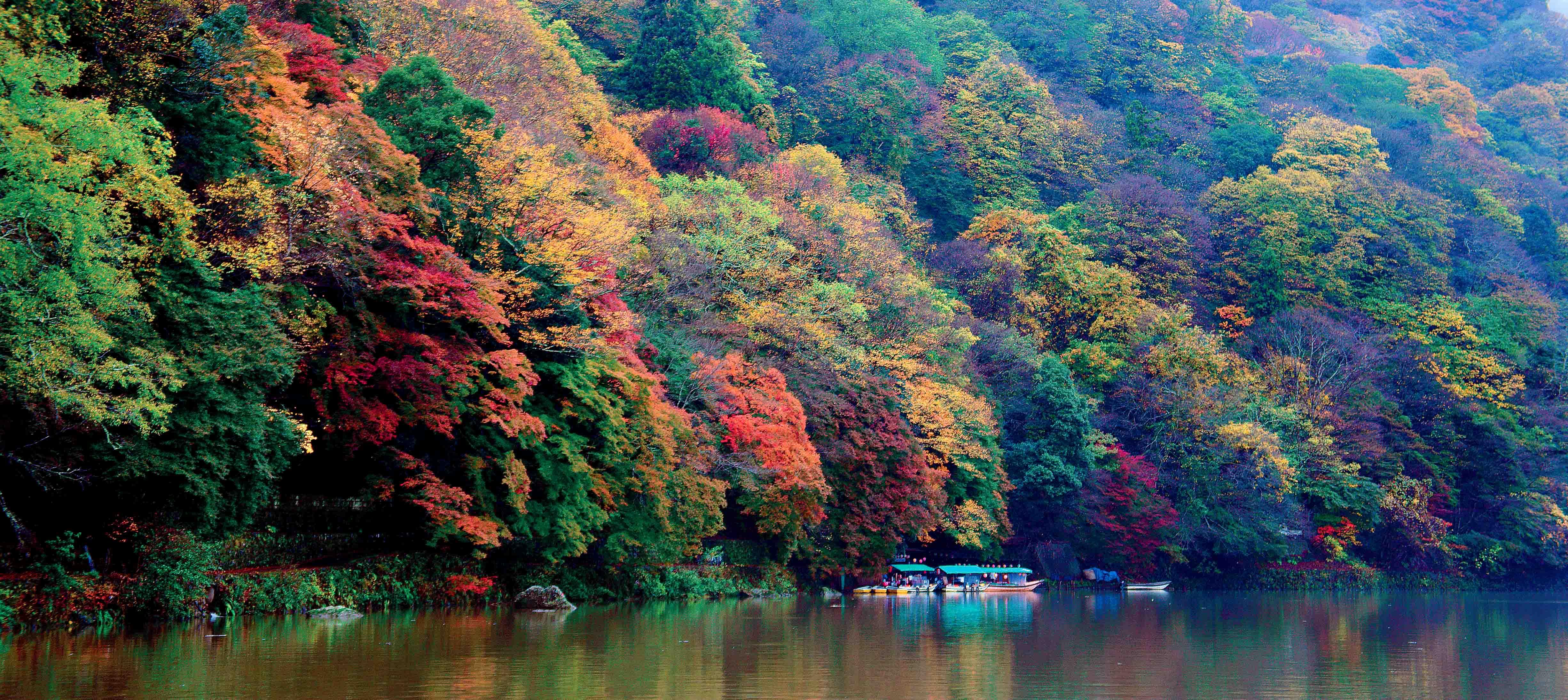Hoshinoya Arashiyama in Kyoto Prefecture.