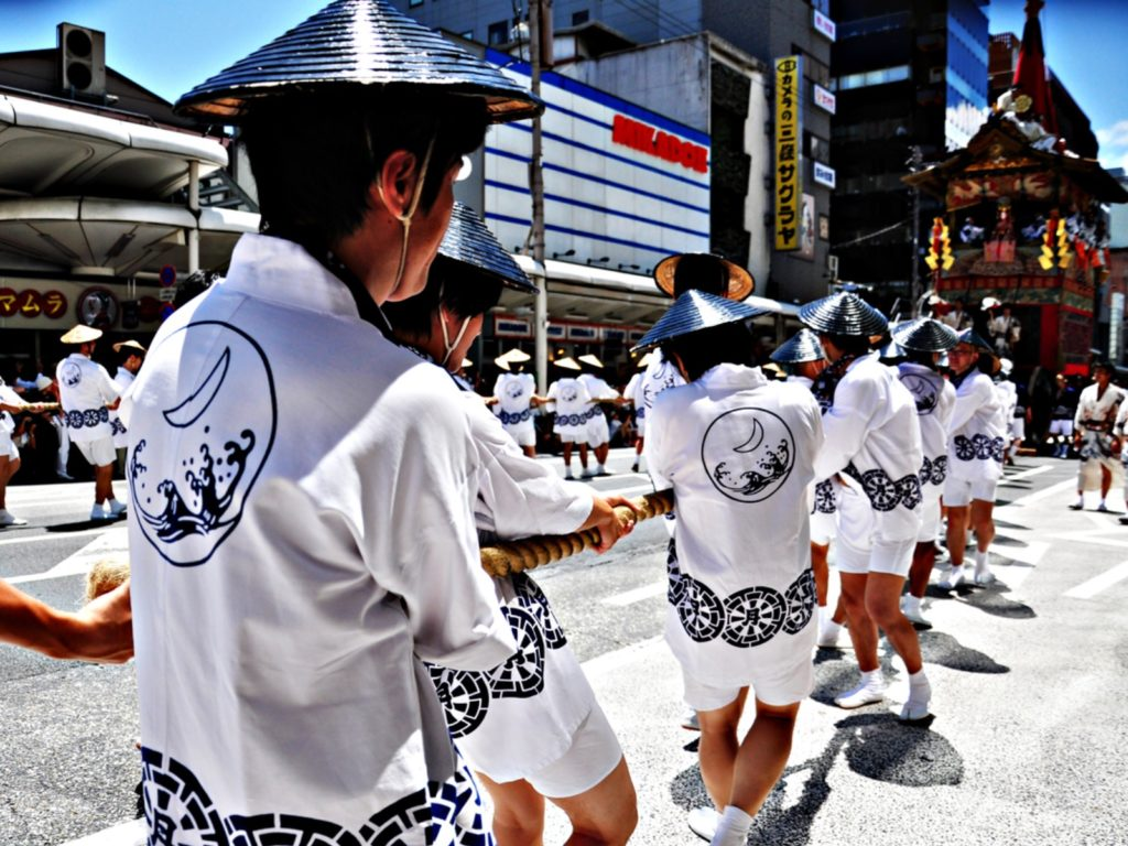 Participants of Gion Festival (Gion Matsuri)
