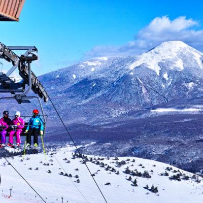 Skiing in Nagano