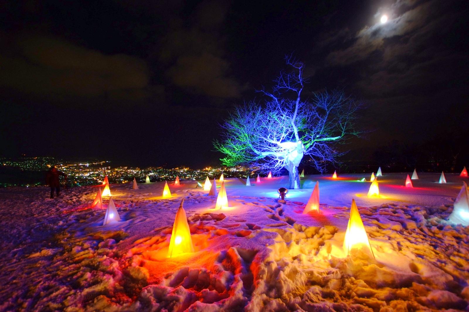 Otaru Snow Light Path Festival.