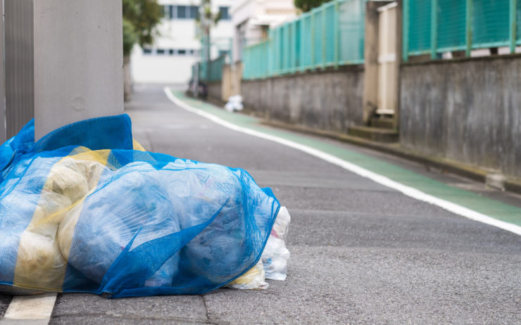 Garbage management in Japan.