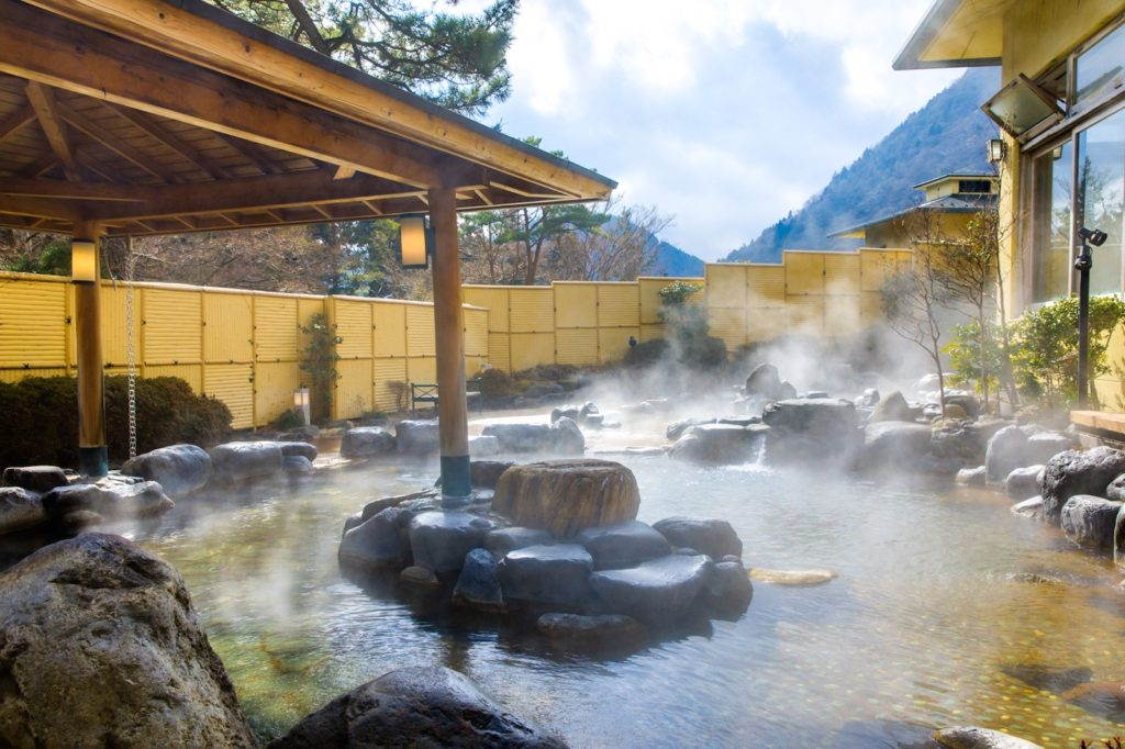 The Hakone Freepass gets you discount on entry to local onsen (hot springs).