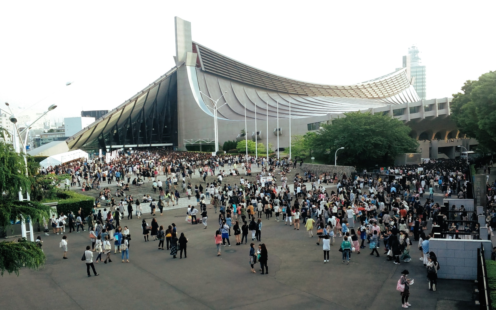 Yoyogi National Gymnasium.