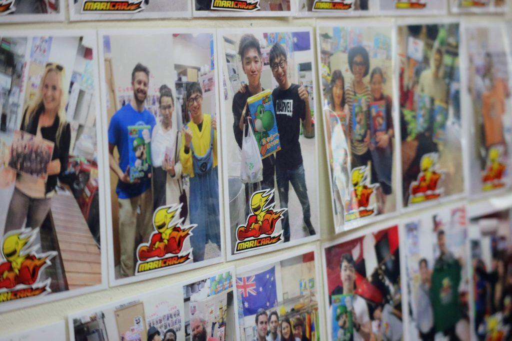 MariCar Photo wall